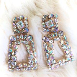 Zara | sparkly door knocking earrings